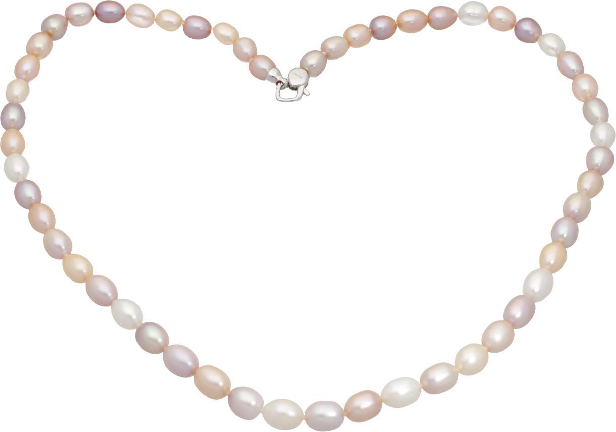 Moonpearls Miriam - náhrdelník z pravých říčních perel - vícebarevný Délka náhrdelníku 43,5 cm, počet perel 41